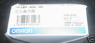 EY8-A5C-RD Omron pressure transmitter 0 to 0.725psi nib - 60 day warranty