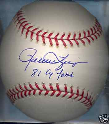 Rollie Fingers Milwaukee Brewers 1981 Cy Young Autographed Signed Baseball COA