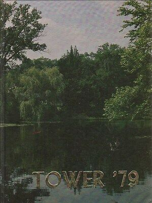 College Yearbook Westbrook College Portland Maine ME Tower 1979
