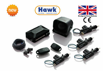 Car Alarms Remote Start With 4 Door Central Locking Kit