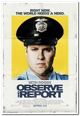OBSERVE AND REPORT - 2009 - Original 27x40 movie poster - SETH ROGEN, ANNA FARIS