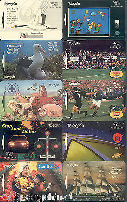 New Zealand 94 Adcards 6 International collector issue NZ00399