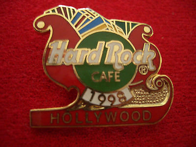 HRC Hard Rock Cafe Hollywood Christmas 1998 Sleigh