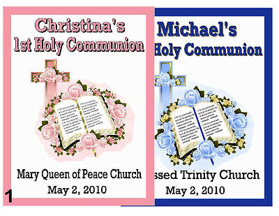 15 FIRST 1st HOLY COMMUNION MAGNETS PARTY FAVORS