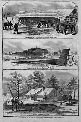Negro Servants' Tent And Stables, Blacksmith Department