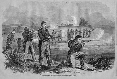 Maine In The Civil War 1863 First Maine Cavalry Soldiers Rifle Sharp Shooters