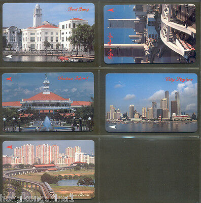 Singapore Day phonecard set mint never used SG13536
