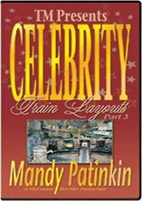 Celebrity Train Layouts Part 3 Mandy Patinkin NEW DVD