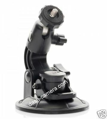 Window Suction Mount for GoPro HD Go Pro 2 3 4 Silver Black White Helmet Camera