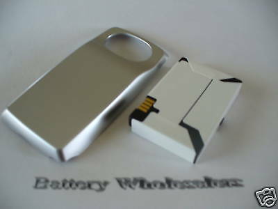 LOT of 25 Battery for Nextel i830 + Silver door 900mAh
