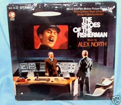 LP ALEX NORTH Shoes of the Fisherman  OST F'SLD!