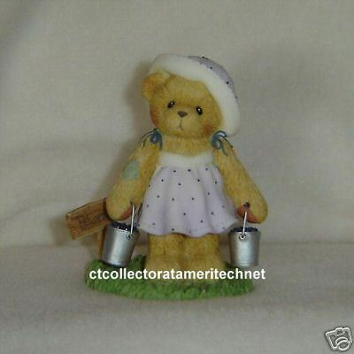 Cherished Teddies Leah 2003 Symbol of Member NIB