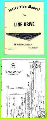 Line Drive 1972 Baseball Manual Schematic