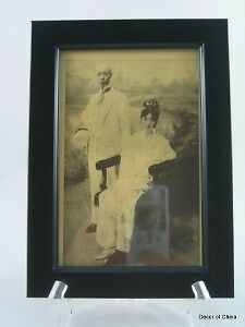 Chinese Framed Media Picture of Late Qing Dynasty LD-16