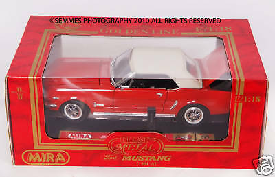 MIRA by SOLIDO Ford Mustang Fasback 1:18 Scale #80830