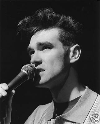 Young Morrissey The Smiths glossy 8x10 Photo #1