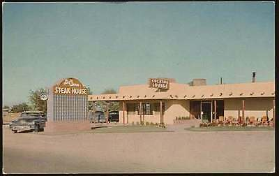 ROSWELL, NM VINTAGE POSTCARD La Cima Steak House