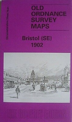 OLD ORDNANCE SURVEY DETAILED MAPS BRISTOL SE GLOUCESTERSHIRE 1902 Godfrey Edit