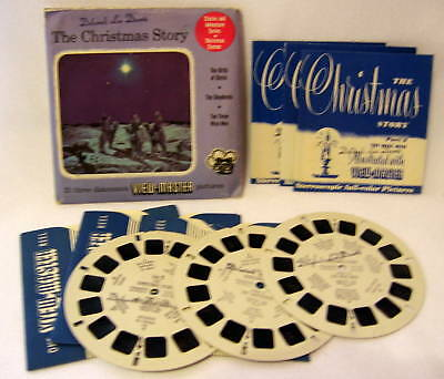 "VIEWMASTER ""THE CHRISTMAS STORY"" #XM123"