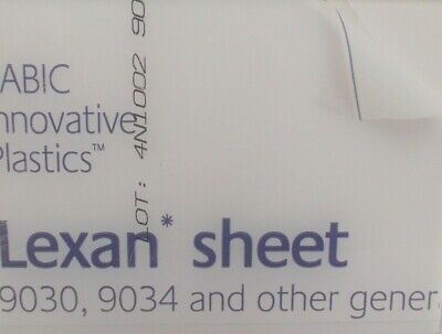0.75 mm A4 Lexan Sheet 297 mm x 210 mm, Virtually unbreakable Glazing.Models etc