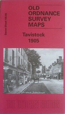Old Ordnance Survey Detailed Maps Tavistock Devon 1905 Godfrey Edition