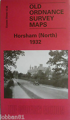 Old Ordnance Survey Detailed Map Horsham North Sussex 1932 Sheet 13.08