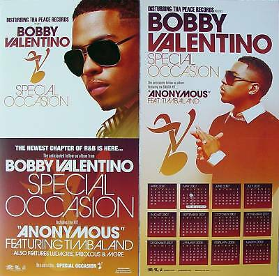 BOBBY VALENTINO Special Occasion PROMO 2Side Poster NEW