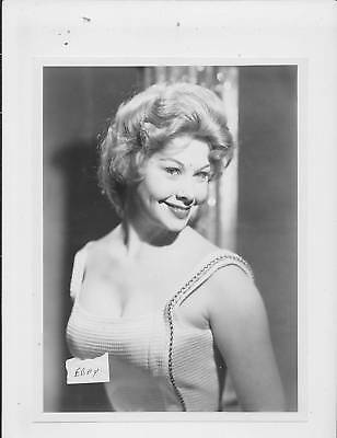 Sue Ann Langdon busty VINTAGE Photo sepiatoned