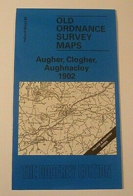 OLD ORDNANCE SURVEY  MAP AUGHER CLOGHER  AUGHNACLOY IRELAND 1902 Sheet 46