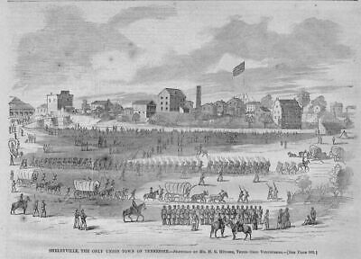 Shelbyville, Only Union Town Of Tennessee, Civil War