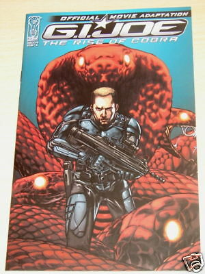 Gi Joe Movie Adaptation # 4 - Cover A - From Idw