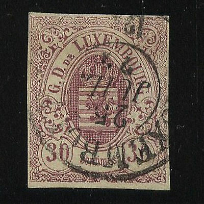 Luxembourg  10  used  catalog  $300.00