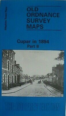 Old Ordnance Survey Maps Town Plans Cupar Fifeshire Scotland 1894 Part 11 New