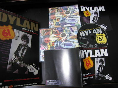 Bob Dylan Highway 61 Interactive US CD- ROM Japan Assembled Issue