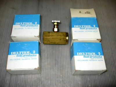 Lot of 4- Deltrol Fluid Products Valve (N30BK) 10000-89