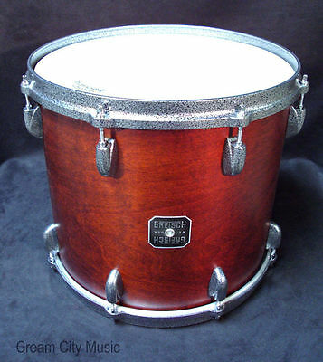 "Gretsch USA Broadkaster 12 x 14 Tom Drum NOS Satin Walnut Lacquer 14"" New"