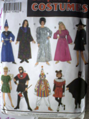 9175 UNCUT Vintage Simplicity SEWING Pattern Child's Halloween Costume Mix/Match