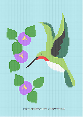 Crochet Pattern TOOLS  CONSTRUCTION Color Graph//Chart afghan pattern