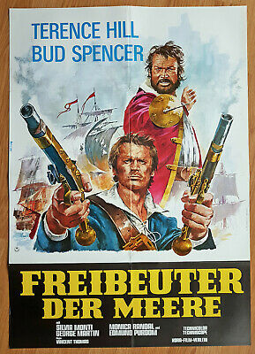 BLACKIE THE PIRATE German 1-sh TERENCE HILL - BUD SPENCER 1971