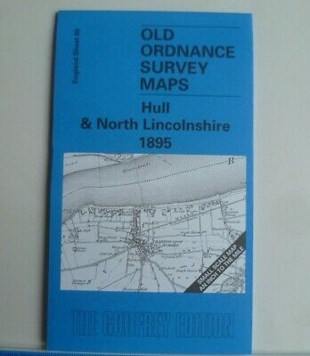 OLD ORDNANCE SURVEY MAPS HULL & N LINCOLNSHIRE New Holland 1895 Sheet 80 New