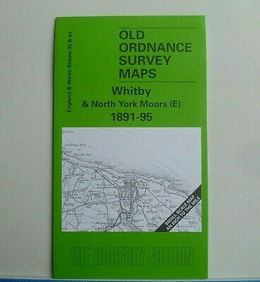 Old Ordnance Survey Maps  Whitby & North York Moors E 1891-95  Godfrey Edition