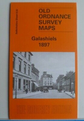 Old Ordnance Survey Maps Galashiels  Selkirkshire Scotland 1897 Godfrey Edition