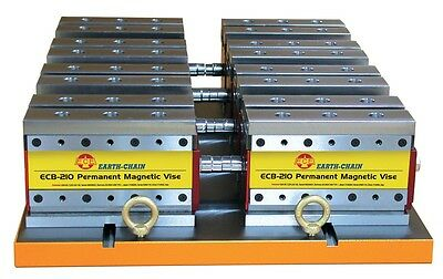 Earth Chain Ecb-210 Magnetic Workholding Vise 4,620 Lb