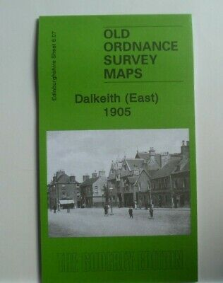 Old Ordnance Survey  Detailed Maps  Dalkeith (East) Scotland  1905 Sheet 8.07