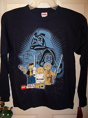 6 NWT Lego Clone Star Wars Yoda Long Sleeve Brown Shirt Boys Size 5