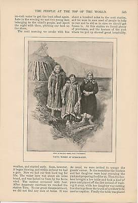 1901 Siberia Lena Andree Search Vintage Article