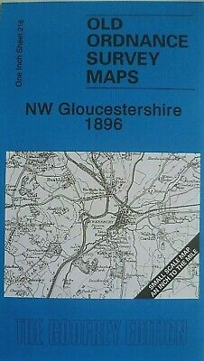 Old Ordnance Survey Map Nw Gloucestershire & Map Dymock  1896 Sheet 216 New