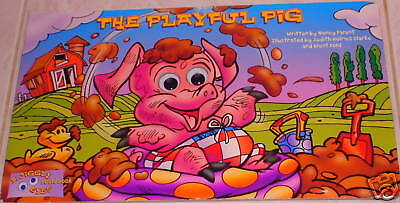 The Playful Pig Jiggly Eyes Board Book Ages 3 - 5