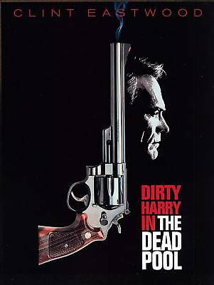 """Dirty Harry - """"DEAD POOL"""" Movie Poster"""