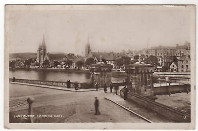 Inverness - Looking East Real Photo Postcard 1933